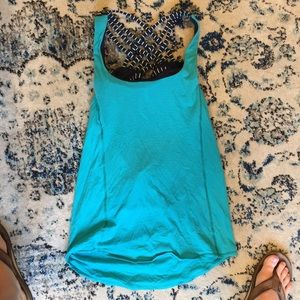 Tank top with built in bra from Lululemon